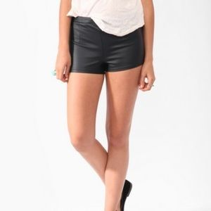 Faux Leather Shorts | F21